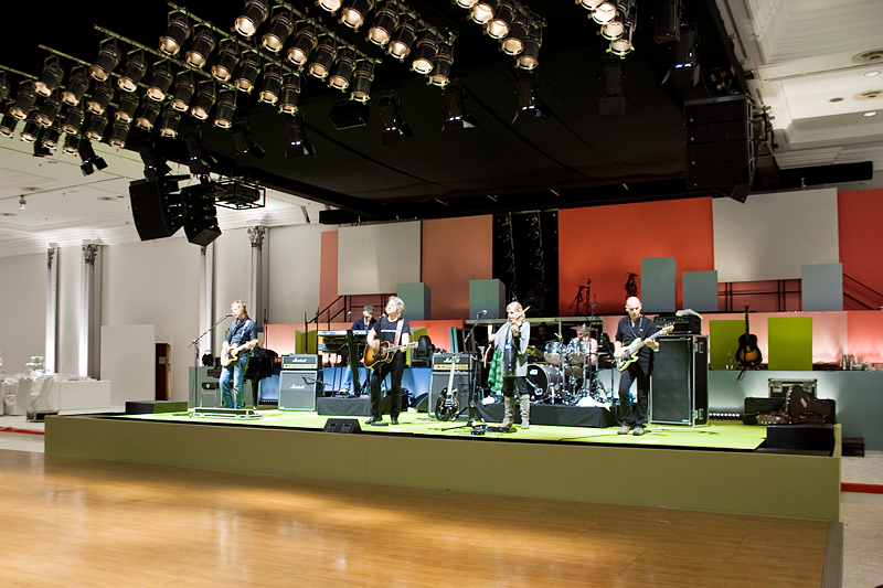 Bühne Saal Potsdam BAP Soundcheck
