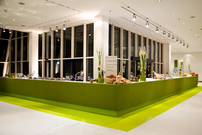 Gartenlounge Buffet Bundespresseball 2009