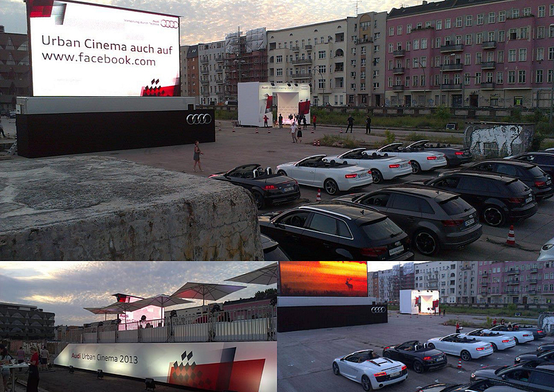 Audi Urban Cinema