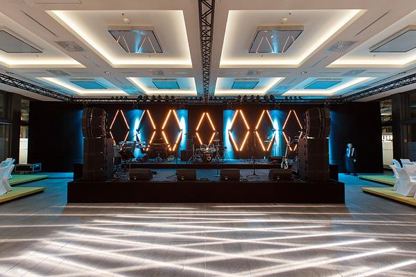 Pavillon Bühnenbild